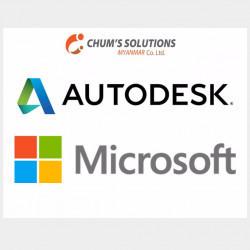License Product, AutoDesk&Microsoft Image, classified, Myanmar marketplace, Myanmarkt