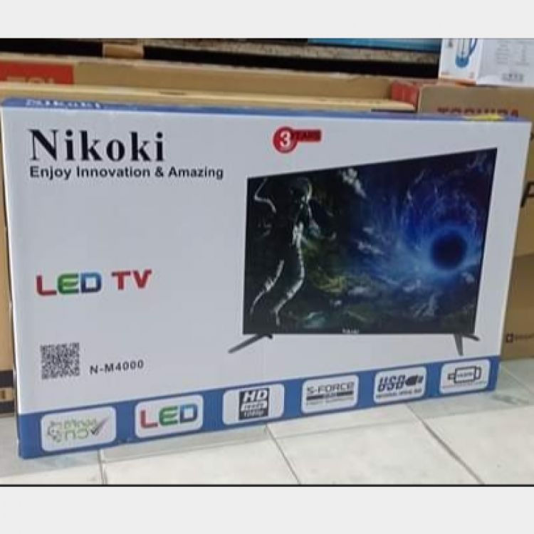 "Nikoki LED TV 40"" Image, အိမ်သုံးပစ္စည်းများ classified, Myanmar marketplace, Myanmarkt"
