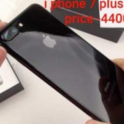 I phone 7 plus 256GB Jet Black Image, classified, Myanmar marketplace, Myanmarkt