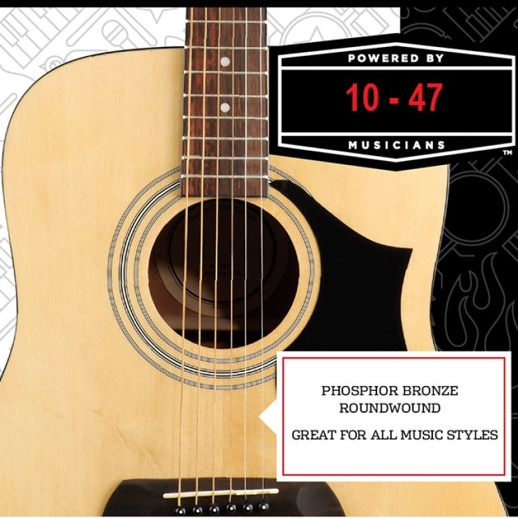 ACOUSTIC STRINGS 10-47 Image, တူရိယာပစ္စည်းများ classified, Myanmar marketplace, Myanmarkt