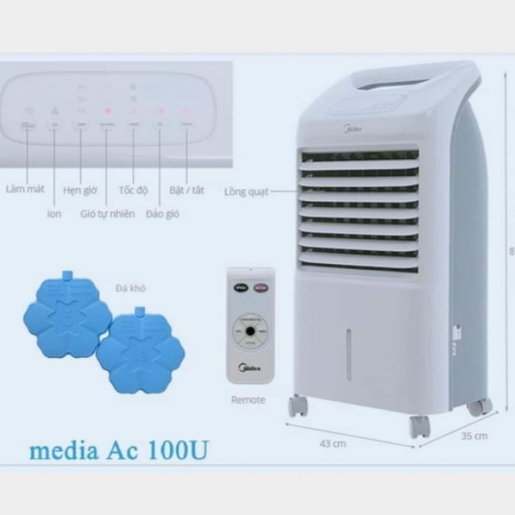 Midea Air Cooler Image, Air- conditioner  classified, Myanmar marketplace, Myanmarkt