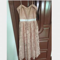 MDS Lace Dress Image, classified, Myanmar marketplace, Myanmarkt