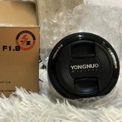Yongnuo 50 mm lens F 1.8 Image, classified, Myanmar marketplace, Myanmarkt