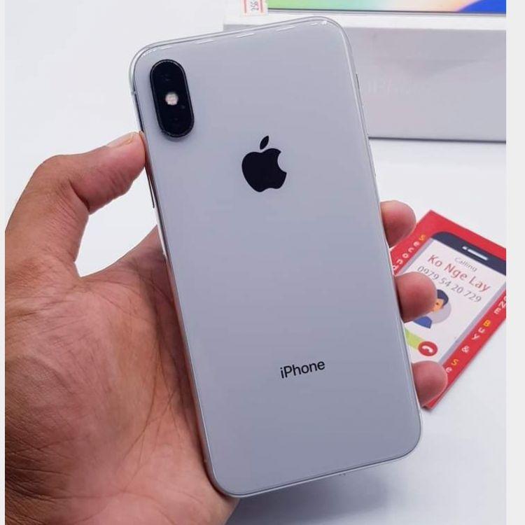 iPhone X 256-GB Image, မိုဘိုင်းဖုန်းများ classified, Myanmar marketplace, Myanmarkt