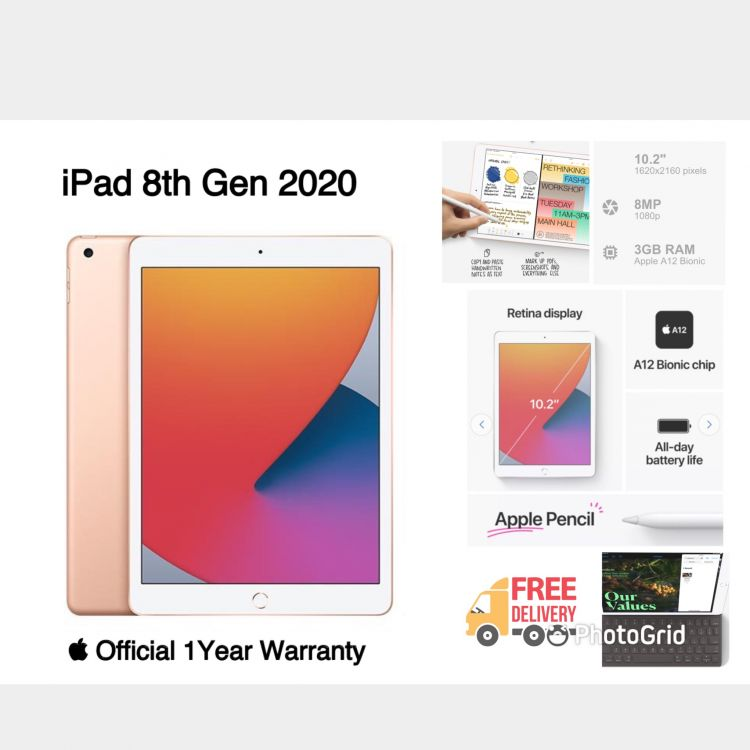 iPad 8th Gen 2020 Image, မိုဘိုင်းဖုန်းများ classified, Myanmar marketplace, Myanmarkt