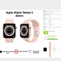 Apple Watch Series 5 Gold 40mm Image, classified, Myanmar marketplace, Myanmarkt