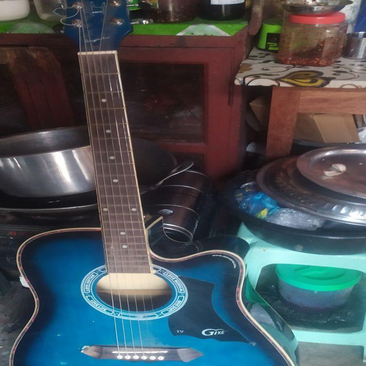 Picked Hollo Electrionic Guitar Image, အနုပညာနှင့် လက်မှုပစ္စည်း classified, Myanmar marketplace, Myanmarkt