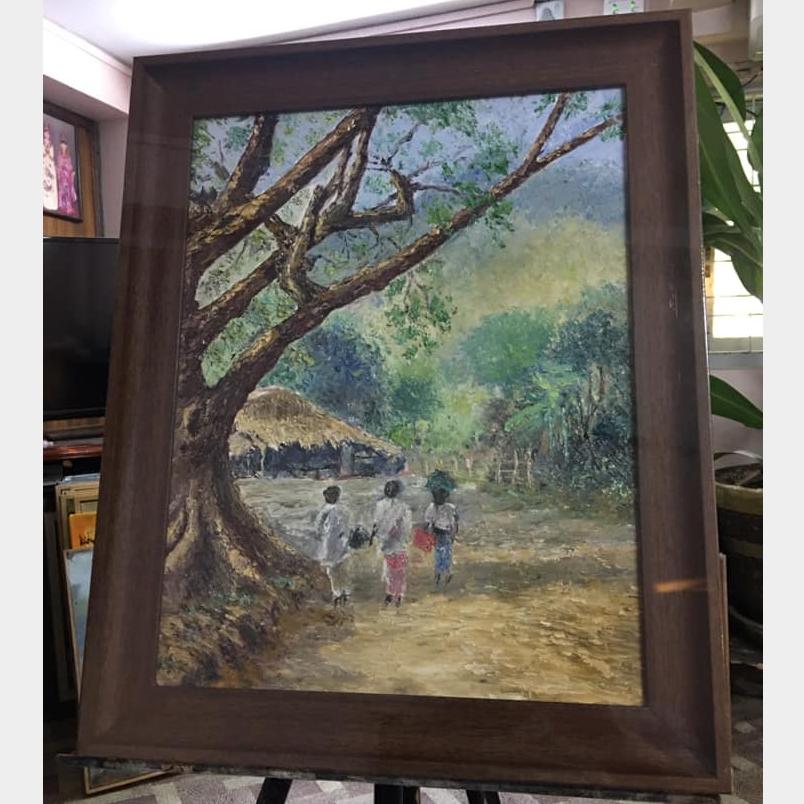 Oil Painting Image, အနုပညာနှင့် လက်မှုပစ္စည်း classified, Myanmar marketplace, Myanmarkt