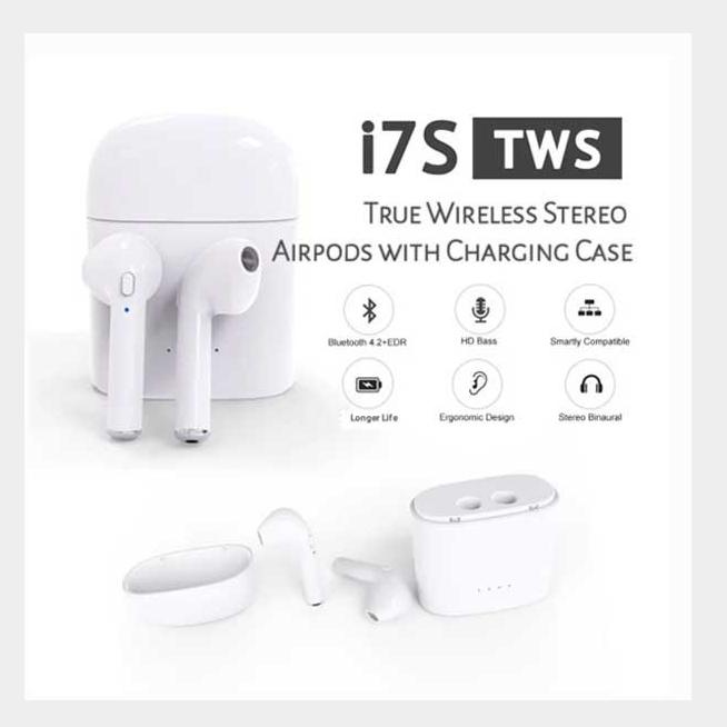 I7S TWS Earphone Image, တူရိယာပစ္စည်းများ classified, Myanmar marketplace, Myanmarkt
