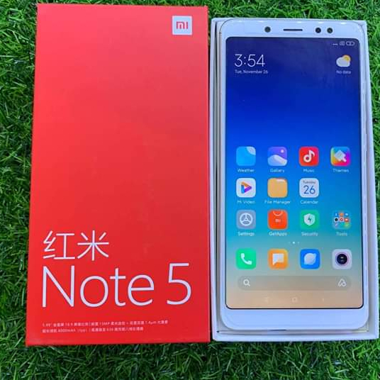 Redmi Note 5 (Gold) Image, မိုဘိုင်းဖုန်းများ classified, Myanmar marketplace, Myanmarkt