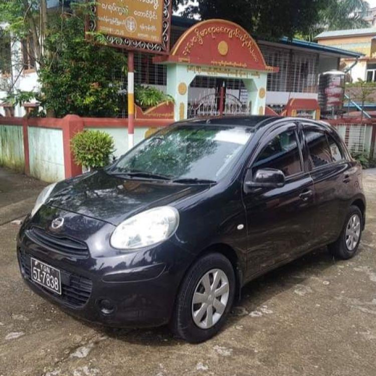 Nissan March 2012  Image, ကား/စီဒန် classified, Myanmar marketplace, Myanmarkt