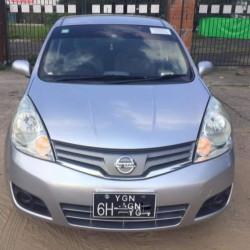 Nissan Note 2008  Image, classified, Myanmar marketplace, Myanmarkt