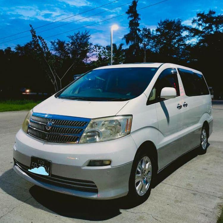 Toyota Alphard 2002  Image, 4x4/SUV classified, Myanmar marketplace, Myanmarkt