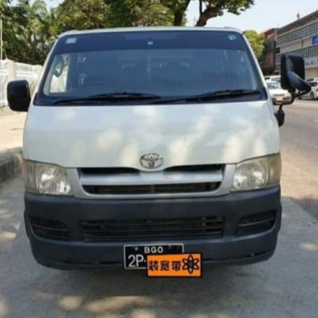 Toyota HiAce 2007  Image, ကား/စီဒန် classified, Myanmar marketplace, Myanmarkt