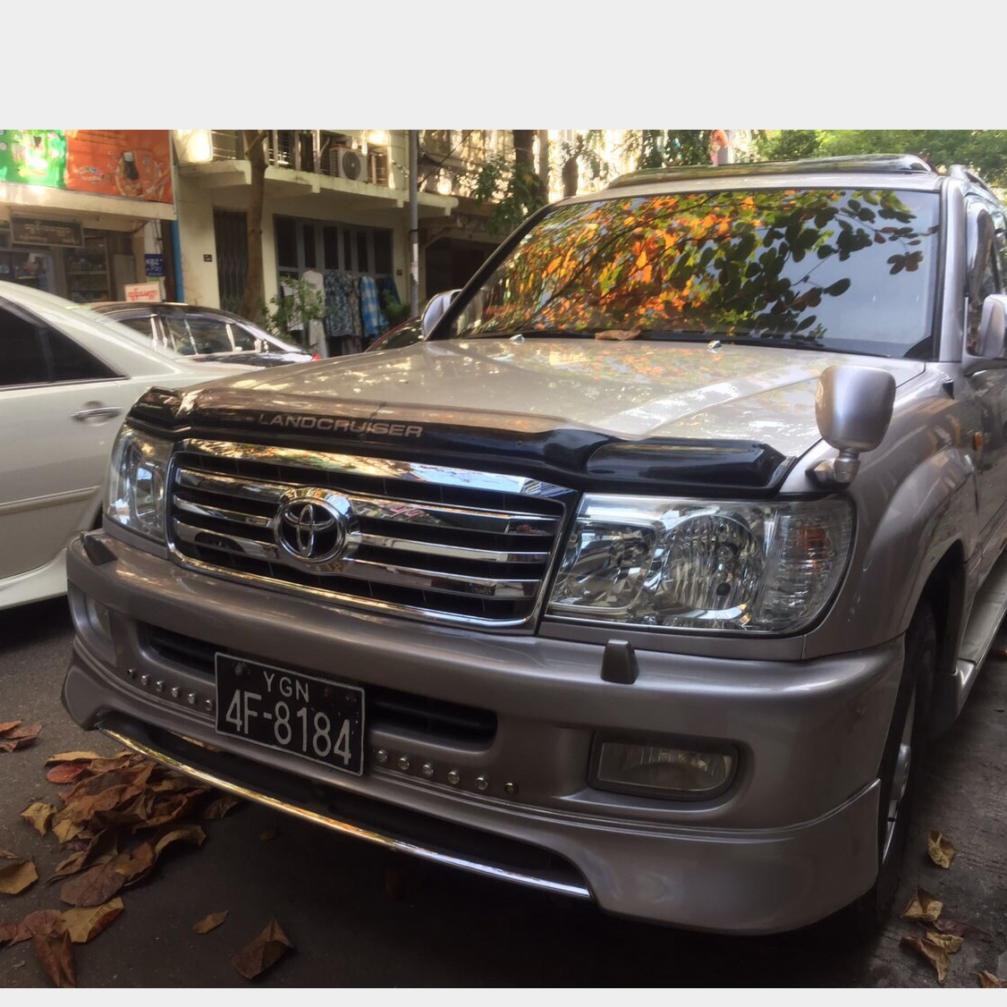 Toyota Land Cruiser Cygnus  1999  Image, 4x4/SUV classified, Myanmar marketplace, Myanmarkt