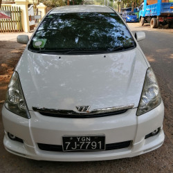 Toyota Wish 2004  Image, classified, Myanmar marketplace, Myanmarkt