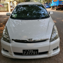 Toyota Wish 2004  Image, ဗန် classified, Myanmar marketplace, Myanmarkt