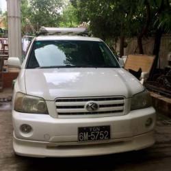 Toyota Kluger  2003  Image, classified, Myanmar marketplace, Myanmarkt