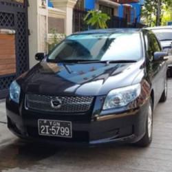 Toyota Corolla Fielder  2008  Image, classified, Myanmar marketplace, Myanmarkt