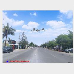 ပင်လုံလမ်းမပေါ်မြေကွက်အရောင်း Image, classified, Myanmar marketplace, Myanmarkt