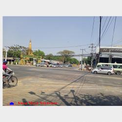 သံသုမာလမ်းမပေါ်မြေကွက်အရောင်း Image, classified, Myanmar marketplace, Myanmarkt