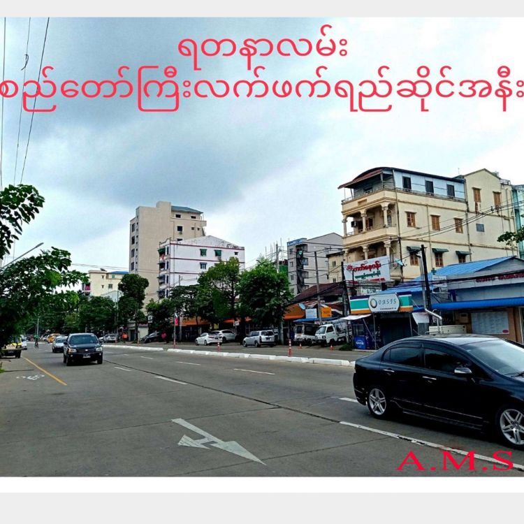 ဝေဇယန္တာလမ်းမအနီးလုံးချင်အိမ်အရောင် Image, အိမ် classified, Myanmar marketplace, Myanmarkt
