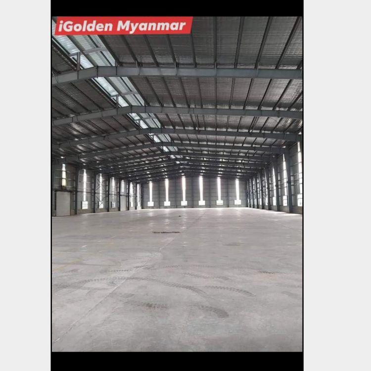 သီလဝါစက်မှုဇုန် နေရာကောင်း အမြန်ငှားမည်။ Image, သိုလှောင်ရုံ classified, Myanmar marketplace, Myanmarkt