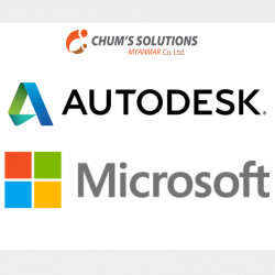 License Product, AutoDesk&Microsoft Image